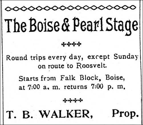 Boise Pearl Stage